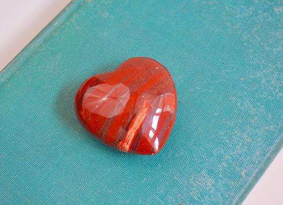 Snakeskin Jasper Heart