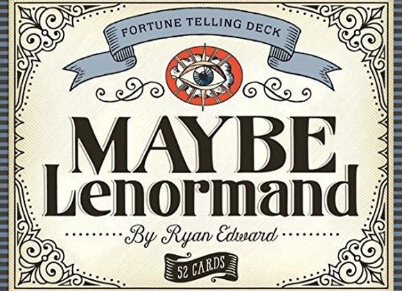 Maybe Lenormand Fortune Telling Deck