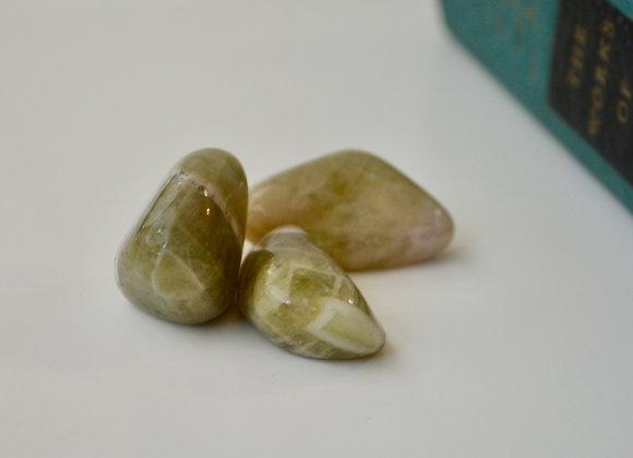 Prasiolite - Tumbled Stone