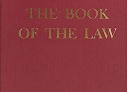 Book of the Law | By Aleister Crowley