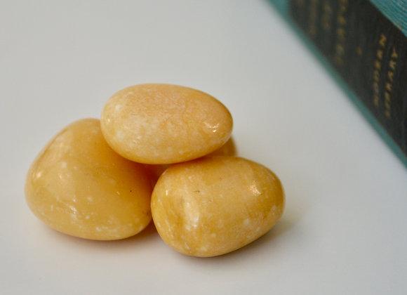 Tan Jasper - Tumbled Stone