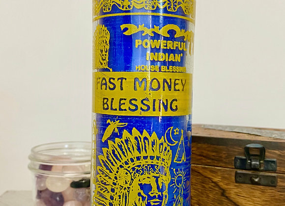 Fast Money Blessing - 7 Day Scented Candle