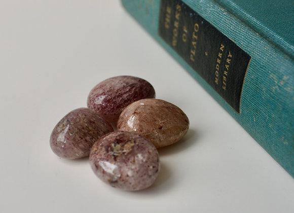 Strawberry Quartz - Tumbled Stone