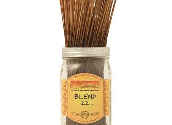 Blend 22- Wildberry Stick Incense