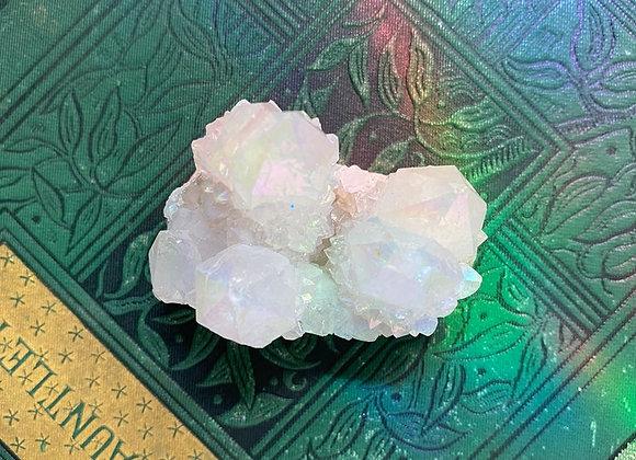 Opal Aura Spirit Quartz - Raw Cluster
