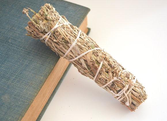 Black Sage (Mugwort) Bundle - Smoke Stick