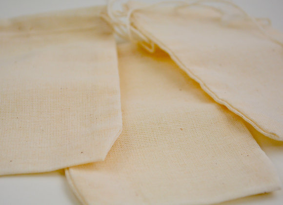 Cheesecloth Cotton Bag Natural