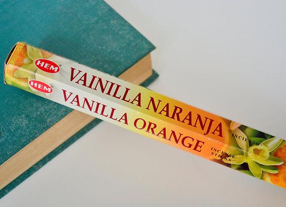 Vanilla Orange Incense Sticks - HEM Incense Sticks
