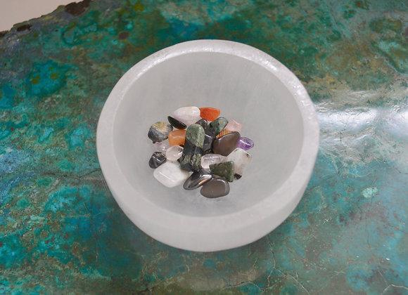 Selenite Bowl - Offering Dish
