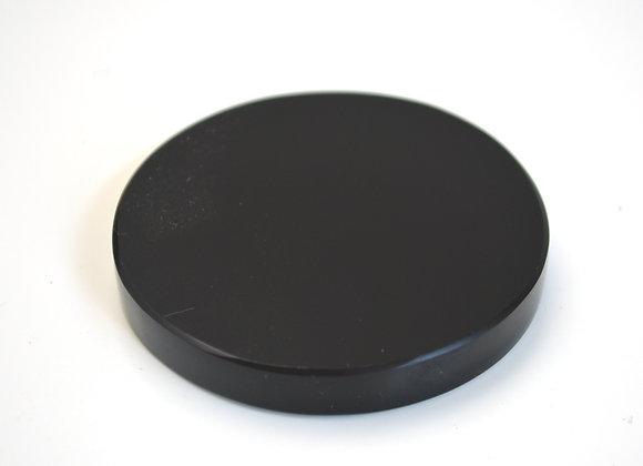 Black Obsidian Scrying Mirror - Medium