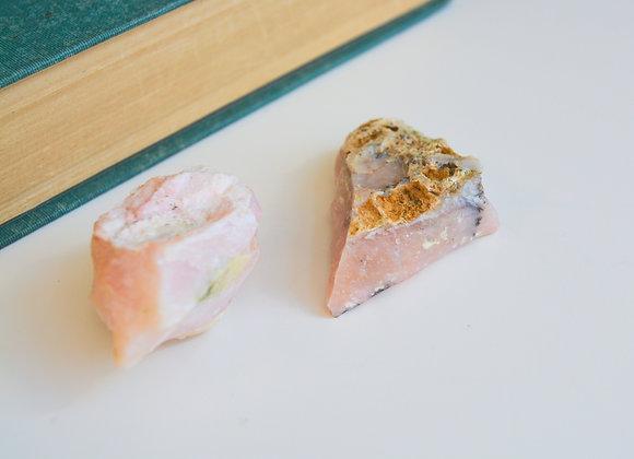 Pink Opal - Raw Crystal