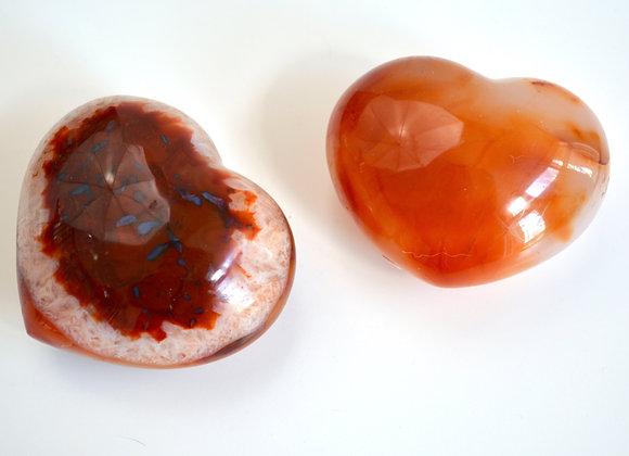 Carnelian - Polished Heart