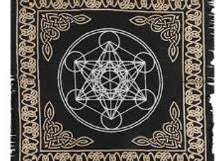 Metatrons Cube  - Altar Cloth