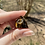 Thumbnail: Tiger's Eye - Skull Pendant