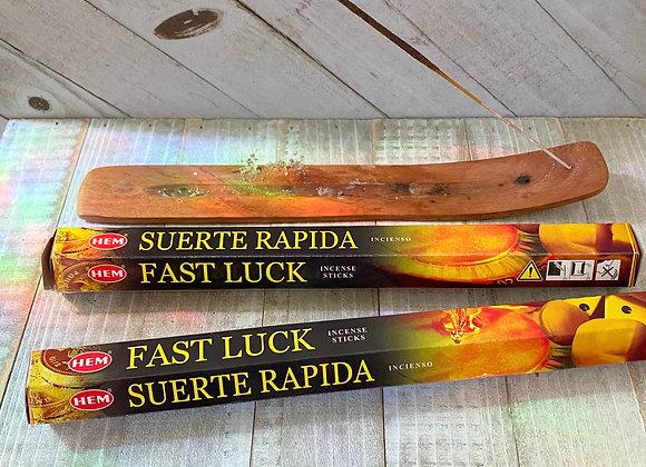 Fast Luck - HEM Incense Sticks