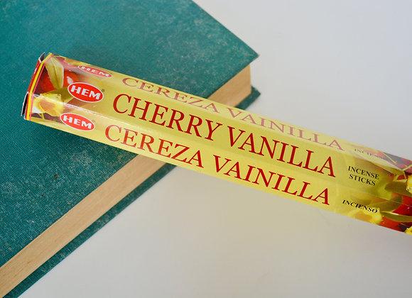Cherry Vanilla Incense Sticks - HEM Incense Sticks