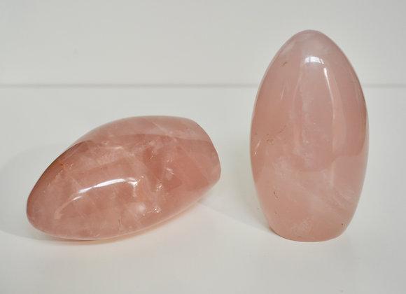 Rose Quartz - Free Form