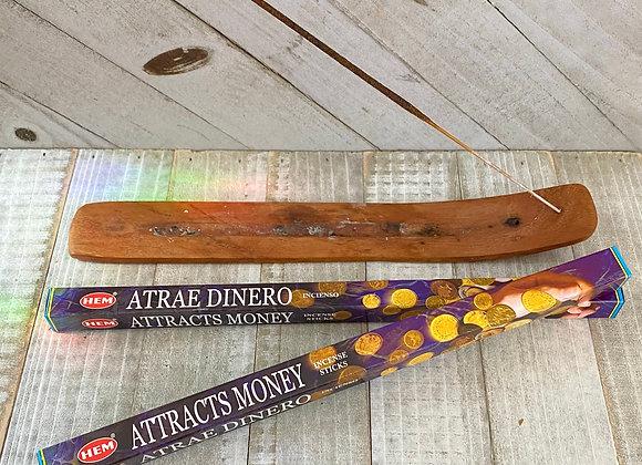 Attracts Money - HEM Incense Sticks