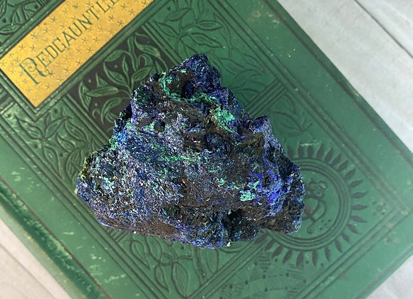 Azurite + Malachite - Raw Crystal Cluster