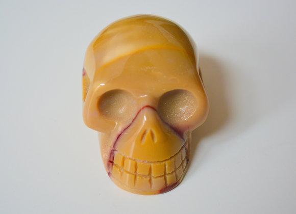 Mookaite Jasper - Crystal Skull