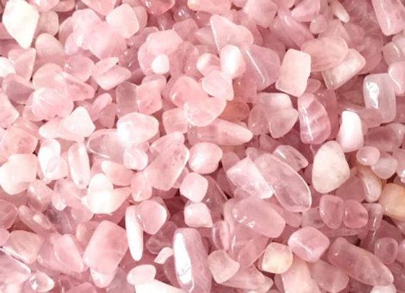 Rose Quartz - Tumbled Chips