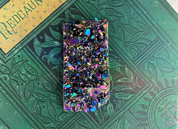 Rainbow Titanium Aura Quartz - Raw Crystal