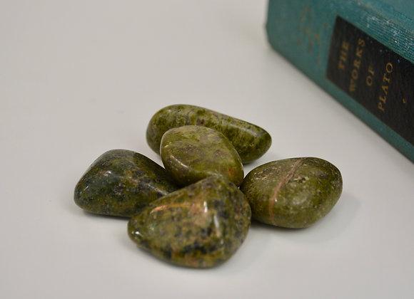 Epidote - Tumbled Stone
