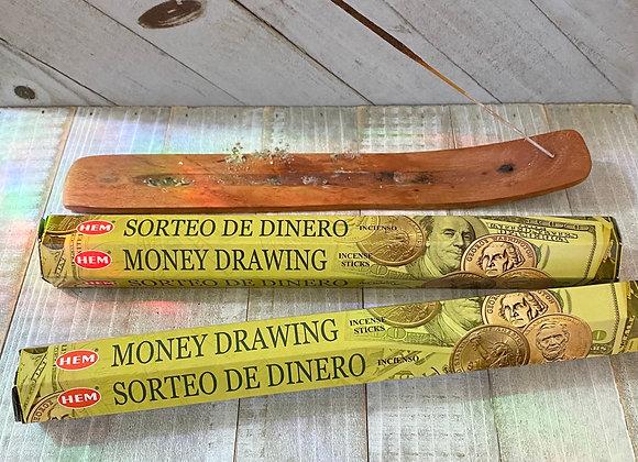 Money Drawing - HEM Incense Sticks
