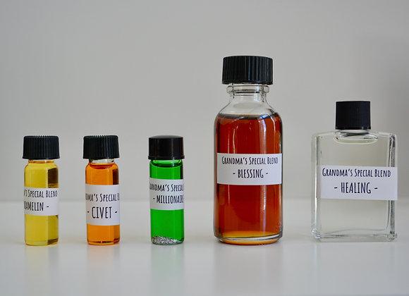 Grandma's Special Blended Oils