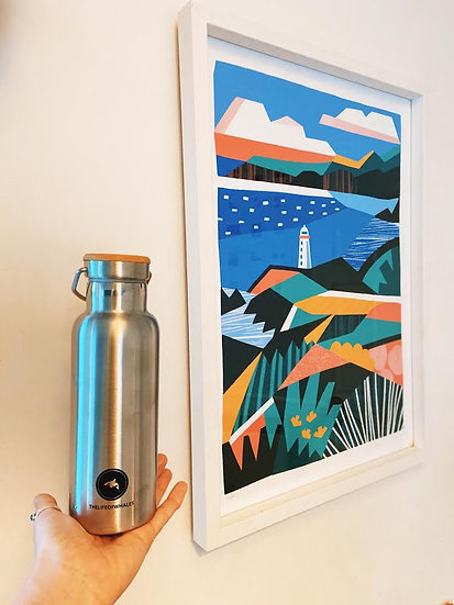 Orca Bottle 500ml by TheLifeofWhales