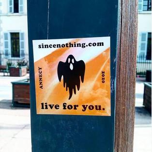 Stickers de rue Since Nothing
