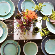 "Foods & Plants   Sfeer impressie in mijn atelier   Servies - Potten - Vazen     ""Every day on every table"""