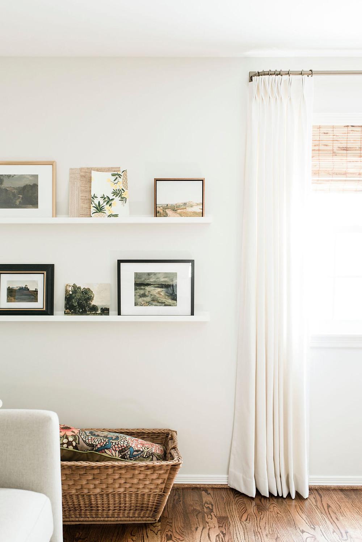 Stunning office space of Houston interior design firm Nancy Lane Interiors.