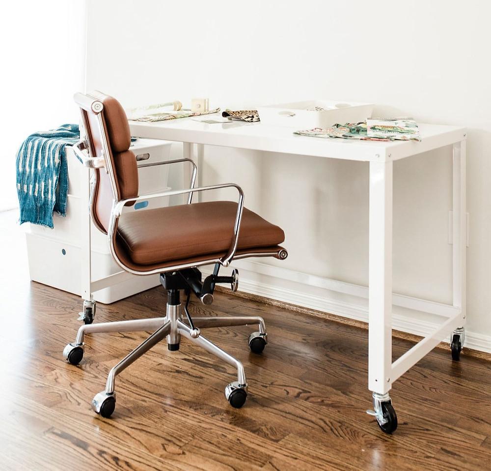 Design studio space of Houston interior design firm Nancy Lane Interiors.