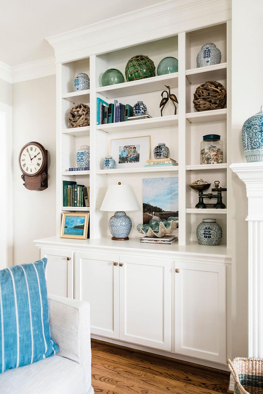 Coastal modern traditional by Houston interior design firm Nancy Lane Interiors