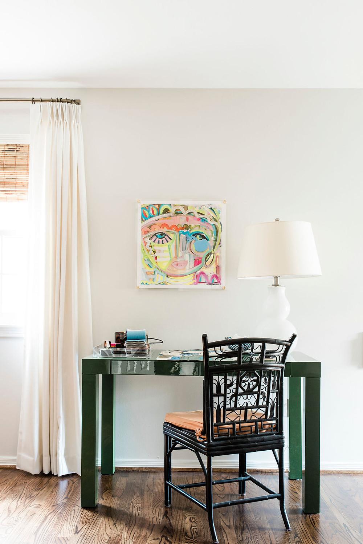 New studio office space of Houston interior design firm Nancy Lane Interiors.