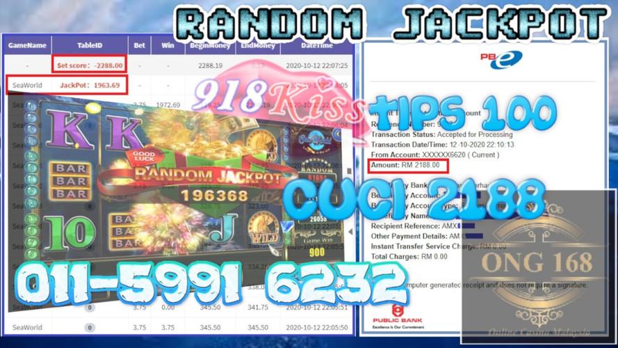 kiss 918 jackpot
