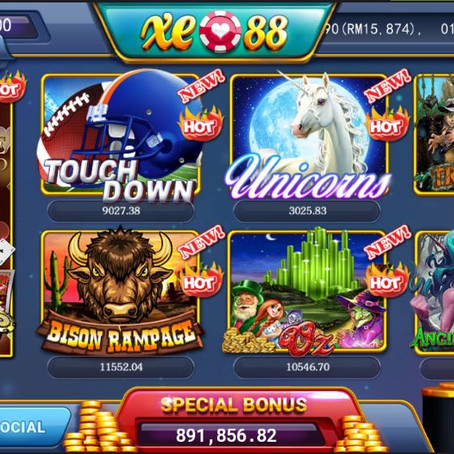 Ong168 Online Casino Malaysia Game List