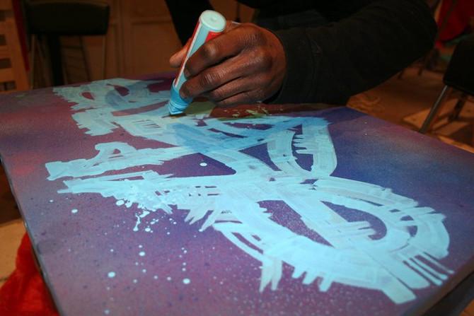 Graffeur pas street artiste