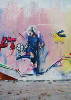 Laetitia Tonazzi footballeuse professionnelle
