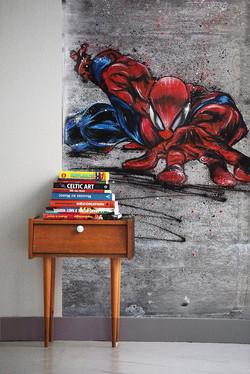 Papier peint Spider man 350€