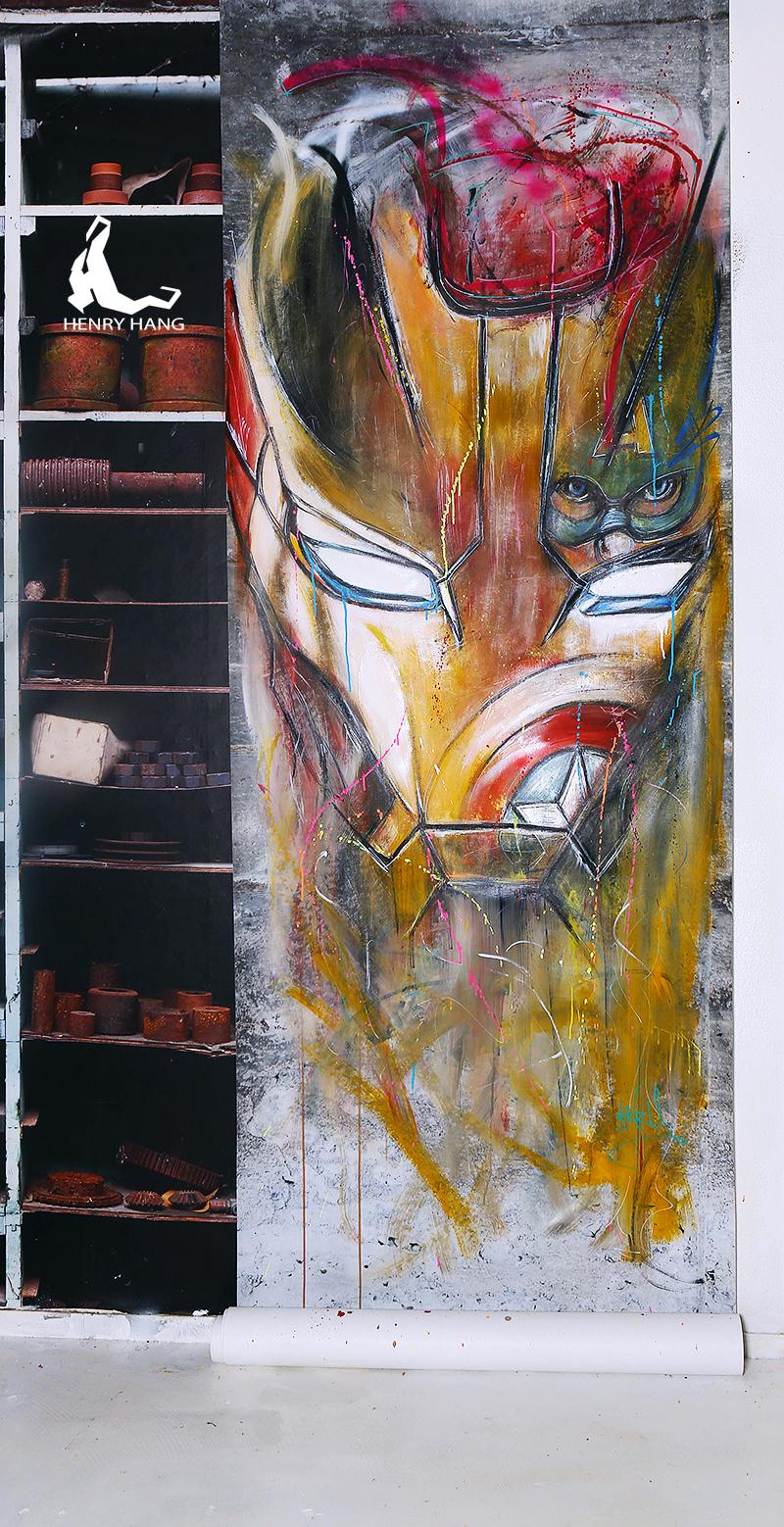 iron man Papier peint 400€