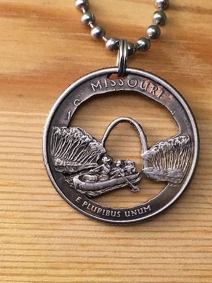 Missouri Quarter Pendant ($20-$60)