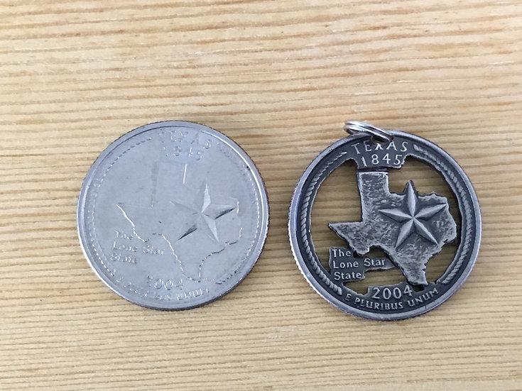 Texas Quarter Pendant ($20-$70)