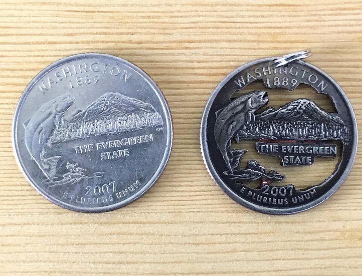 Washington Quarter Pendant ($20-$65)