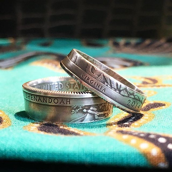 Silver National Park Rings