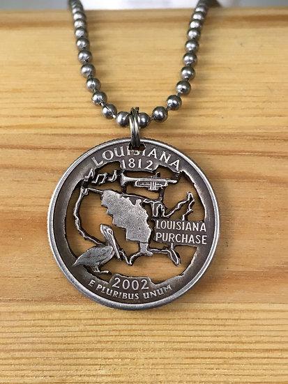 Louisiana Quarter Pendant ($20-$90)