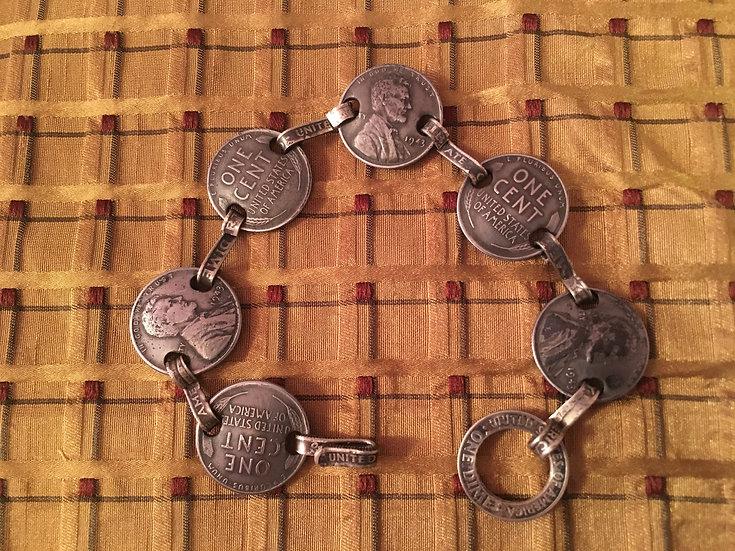 Steel Penny Bracelet
