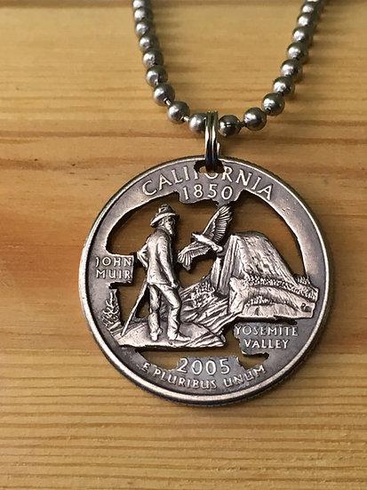 California Quarter Pendant ($20-$75)