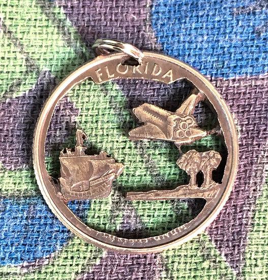 Florida Quarter Pendant ($20-$65)
